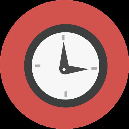 Klocka som beskriver hur snabbt snabblån betalas ut